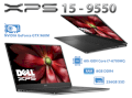 "Dell XPS15 9550  i7-6700HQ / 8GB / SSD 256GB / 15.6"" FHD NVIDIA Geforce 960M"