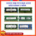 Ram Laptop 2GB DDR3 Bus 1333 PC3 10600s