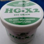 Xi Đánh Bóng Kính Hg-X2 Glass Polishing Compound 500 Gr