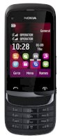 Nokia C2-03 (Nokia C2-03 Touch and Type) Chrome Black