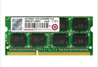 Transcend - DDR3 - 4GB - Bus 1333MHz - PC3 10600