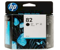 HP 82 Black Ink Cartridge (CH565A) 69ml