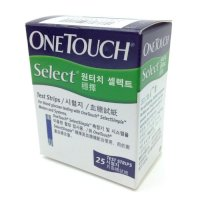 Que thử đường huyết OneTouch Select (25 que)