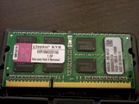 Kingston DDR3 4GB Bus 1333Mhz PC2-10666 for...