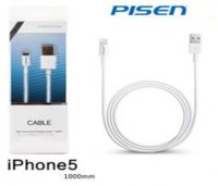 Cable Data Transmit, Charging Pisen iPhone 5 1000mm