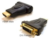 Đầu nối HDMI Male to DVI-D Female 24+1