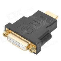 Đầu nối HDMI Male to DVI-I Female 24+ 5