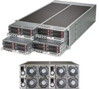 Server Supermicro SuperServer F617R2-R72+ 4U Twin...