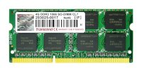 Transcend - DDR3 - 4GB - Bus 1066MHz PC3-8500S