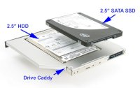 Caddy bay HDD for Notebook
