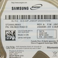 Ổ cứng laptop Samsung 2TB 5400rpm -32MB cache - Sata (ST2000LM003)