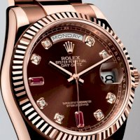 Đồng hồ nam nữ cao cấp Rolex Day-Date Rose Gold...