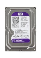Ổ cứng HDD 3.5 inch Western Digital Purple 500GB - 64MB cache - 5400 rpm - Sata 6Gb/s - WD05PURX