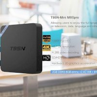 Android Box T95N - Mini M8S Pro Android 6.0, RAM...