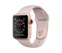 Đồng hồ thông minh Apple Watch Series 3 38mm Gold Aluminum Case with Pink Sand Sport Band