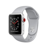 Đồng hồ thông minh Apple Watch Series 3 38mm Silver Aluminum Case with Fog Sport Band