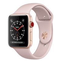 Đồng hồ thông minh Apple Watch Series 3 42mm Gold Aluminum Case with Pink Sand Sport Band