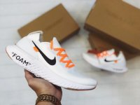 Giày Nike Epic React Flyknit Off White