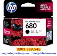 Mực in HP 680 (F6V27AA) Black Original Ink Advantage Cartridge