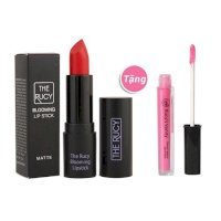 Son Matte The Rucy Blooming Lipstick 01 Pomegranate Red