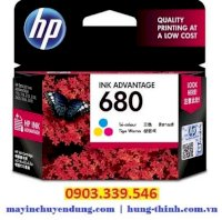 Mực In HP 680 (F6V26AA) Tri Color Original Ink Advantage Cartridge