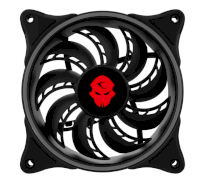 Combo 4 fan case Led RGB 12cm Coolmoon Dual ring...