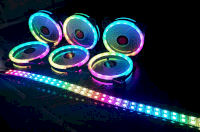 Fan case Coolman Sunshile Led RGB Dual ring