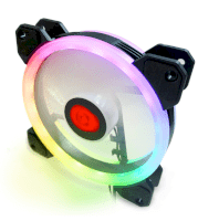 Combo 3 fan case Coolman Led RGB Dual ring