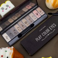 Phấn mắt 10 màu Etude House Play Color Eyes - In The Café