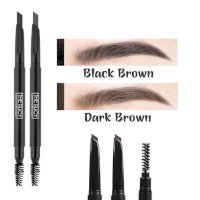 Chì kẻ chân mày The Rucy Auto Eyebrow 02 Black Brown