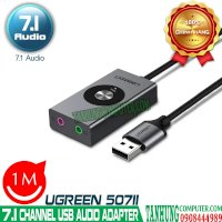 USB Sound Adapter Virtual 7.1 Channel