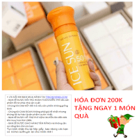 Kem chống nắng Ice Sun Nature Republic SPF 50 PA+++