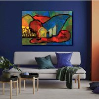 Tranh Canvas Alan Colorful Abstract 01