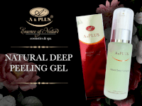 Gel tẩy da chết natural deep peeling gel A&plus A015 60ml