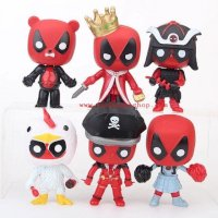 Set 6 mô hình Deadpool Pop 6