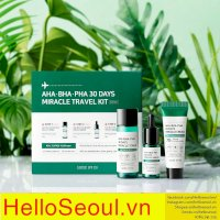 Bộ trị mụn Some By Mi AHA- BHA-PHA 30 Days Miracle Travel Kit