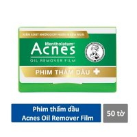 Hộp 50 tờ phim thấm dầu Acnes Oil Remover Paper