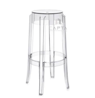 Ghế bar charles ghost stool Capta CB CHARLES