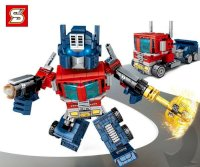 Lắp Ráp SY6486 Robot Transformers Optimus Prime 2in1