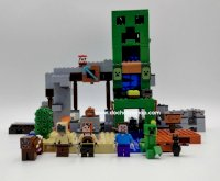 Lắp ráp Lari 11363 The Creeper Mine Minecraft