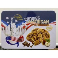 Bánh Quy Bogutti Cookies In American Style Hộp Thiếc 450g