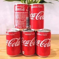 Coca Cola Nhật mini lon 160ml