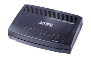 Planet ADE-4400 4 port ADSL2/2+  Router