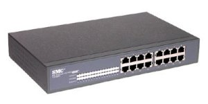 SMC EZ1016DT - 16 Port 10/100Mbps Smart Ethernet Switch