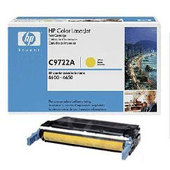 HP C9722A - Yellow
