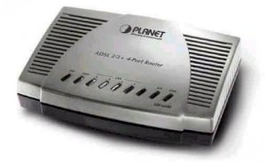 Planet ADE-4400A ADSL2+ w/4 Port  Router