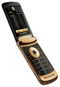 Motorola V8 Luxury Edition