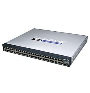 LINKSYS SRW248G4 Management SWITCH 48 Port 10/100Base-T