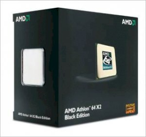 AMD Athlon X2 5000+ Black Edition (2.6GHz, 2x512KB L2 Cache, Socket AM2, 2000MHz FSB)