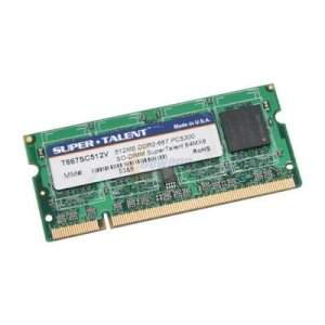 SUPER TALENT - DDRam2 - 512MB - Bus 667 MHz - PC 5300 For Notebook